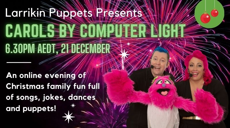 Carols By Computer Light: Online Christmas Show