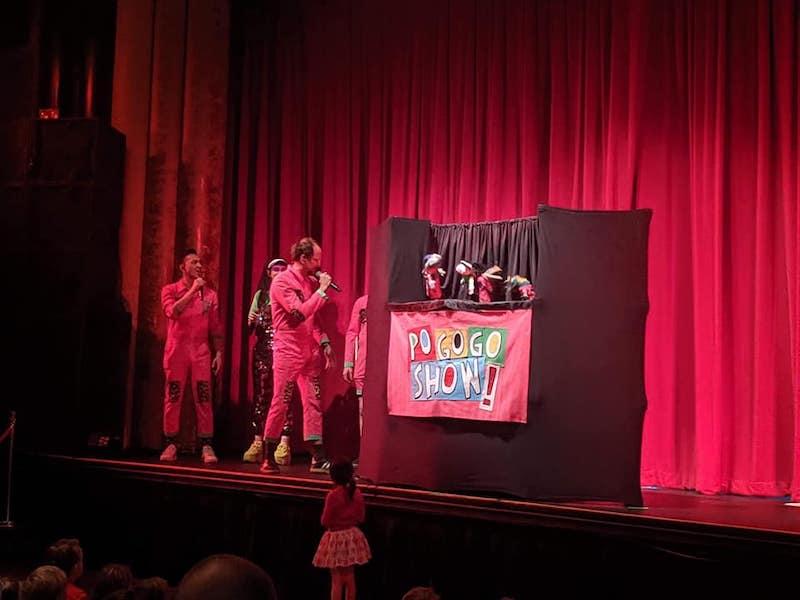 Regurgitator Pogogo Show - Larrikin Puppets - Live On Stage - Kids Music