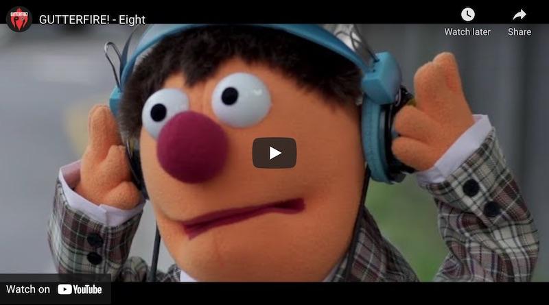 Larrikin Puppets Rock Out On New Gutterfire Music Video - Eight