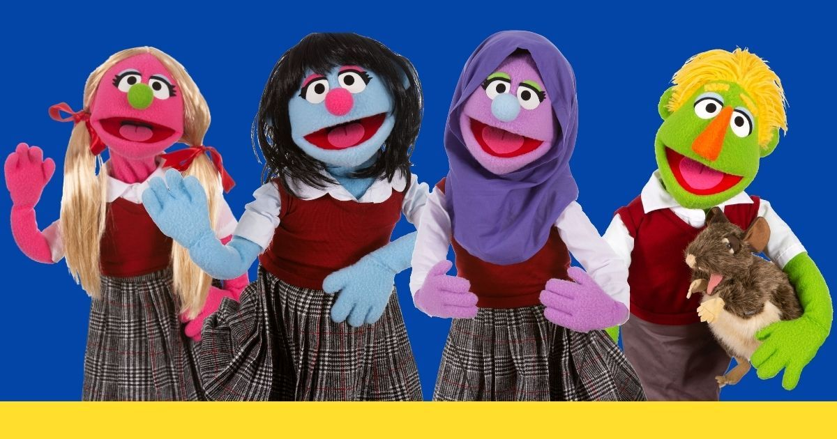 Hijabi Girl - A Musical Puppet Show - Multicultural Songs For Children
