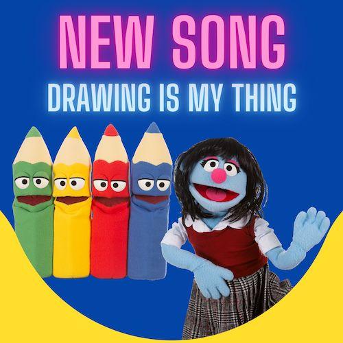 Fun Kids Music - Drawing Is My Thing