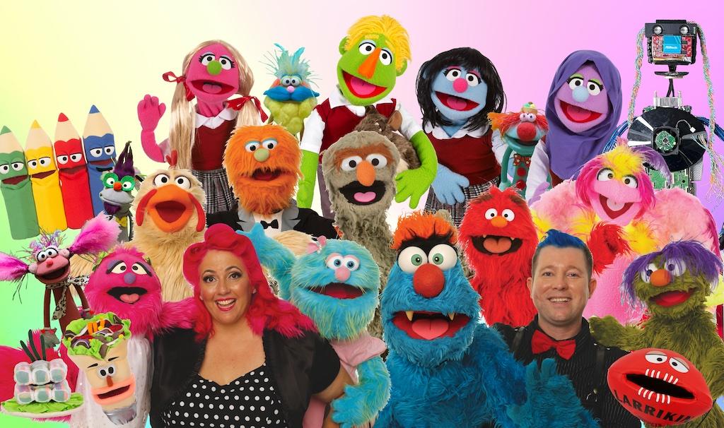Puppet Show - Australian Award-winning children's entertainers - Larrikin Puppets